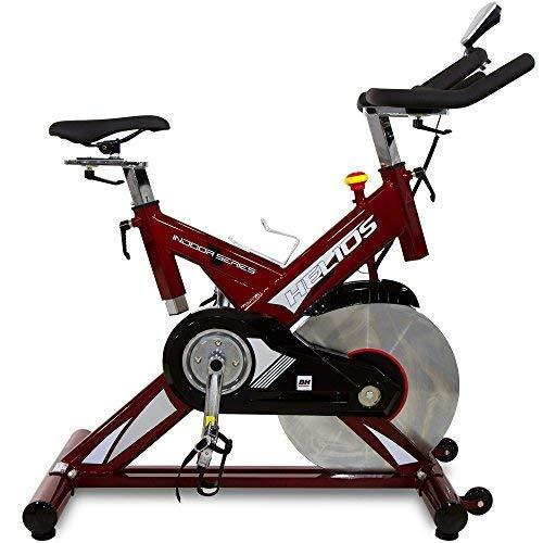 BH Helios Bicicleta ciclismo indoor. Volante inercia 22Kg - Uso Intensivo - Roja - H9178FD (Reacondicionado)