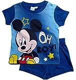 Mickey Mouse Kollektion 2018 Schlafanzug 68 74 80 86 92 Jungen Shorty Pyjama...