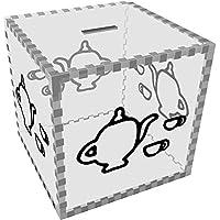 Preisvergleich für Azeeda Groß 'Tee Set' Klar Sparbüchse / Spardose (MB00057902)