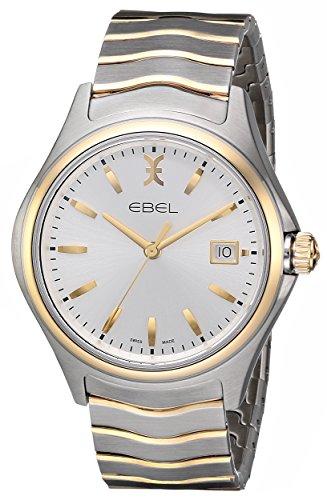 EBEL Men's 1216202 Wave Analog Display Swiss Quartz Two Tone Watch