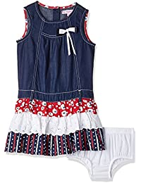 nauti nati Girls' Dress (Pack of 2)