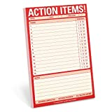 Knock Knock Action Items Pad