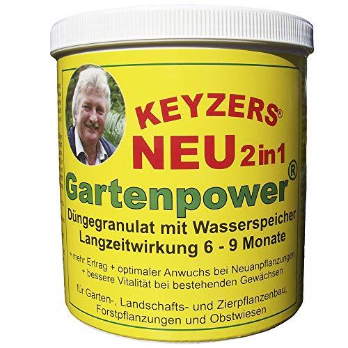 Keyzers Gartenpower 2in1 Düngegranulat mit Wasserspeicher 800g