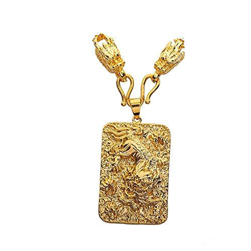 Aoligei Vietnam Gold Pixiu Tag Gold Farbe Schmuck Kupfer vergoldet 24K echter Gold Reichtum High Color Schmuck