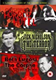 3 Classic Horrors Of The Silver Screen - Vol. 1 - Horror Hotel / The Terror / The Corpse Vanishes [DVD]