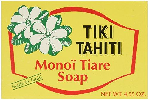 Monoi Tiare Tahiti (Gardenia) Bar Soap 4.55 Ounces by Monoi -