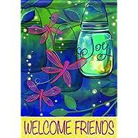 Carson Home Accents Flagtrends glitter Garden Flag, notti estive