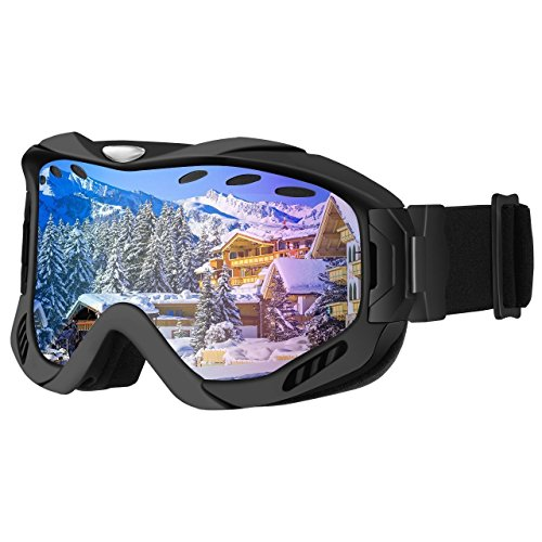 Gafas de Snowboard, OMorc Gafas de Esquí con Antiniebla Lente de Dobl
