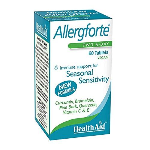 HealthAid Italia Allergforte? New Formula (Curcumina, Bromelina, Pino marittimo)
