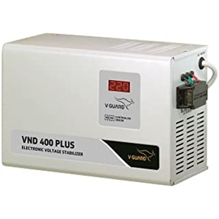 V Guard VND 400 Plus Voltage Stabilizer  Grey
