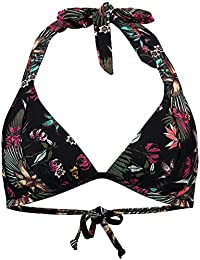 O'Neill Damen Print Moulded Halter Top Bikinis