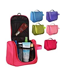 Toiletry Bag For Men & Women Hanging Toiletries Kit For Makeup, Cosmetic, Shaving, Travel Accessories Organizer...