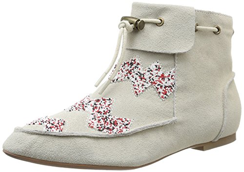 House of Harlow 1960 Monty, Chaussures de ville femme Multicolore (Ice Suede)