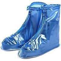 Gaatpot Wasserdicht Regenschuhe Überziehschuhe Regen Schutzschuhe Fahrrad Überschuhe Schuhhülle für Unisex - Erwachsene