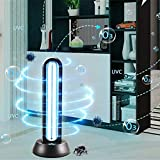 SHELLTB UV-Licht UV-Licht keimtötende Licht Quarzlampe mit Ozon tötet 99,9% der Bakterien Schimmel Keim Viren Fernbedienung für Wohnbereich 65W