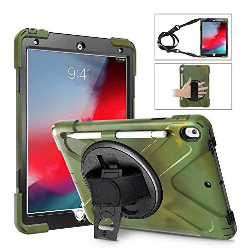 Tablet-Schutzhülle, Webla Passend für iPad Air 3 2019 Pro 10,5 Zoll Gurtschutzhalterung mit Stifthalter, Tpu -