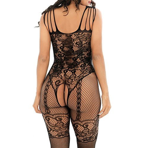 BeautyWill Damen Body Schwarz