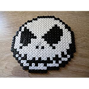 Sprite Jack Skellington - • Hama Beads • Pixel Art • Perler beads