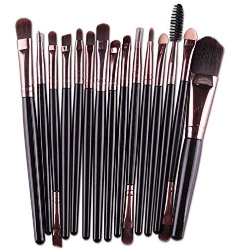 ROMANTIC BEAR 15 Pcs/series ombre a paupieres levres pinceau maquillage pinceaux outil