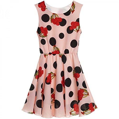 Kleid Kostüm Orange - BEZLIT Mädchen Kinder Spitze Kleid Peticoat Fest Kleider Sommerkleid Kostüm 20482 Orange Größe 104