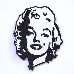 Ecusson thermocollant Marilyn Monroe 9 cm