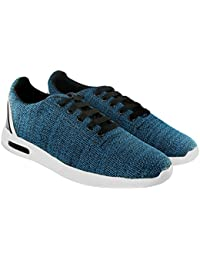 Blinder Blue Green Grey Red Fabric Lace-up Casual Sneakers Shoes For Men On Amazon.in