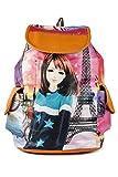 #5: Leather Retail Women's Handbag Backpack(Multicolor,LR00472)