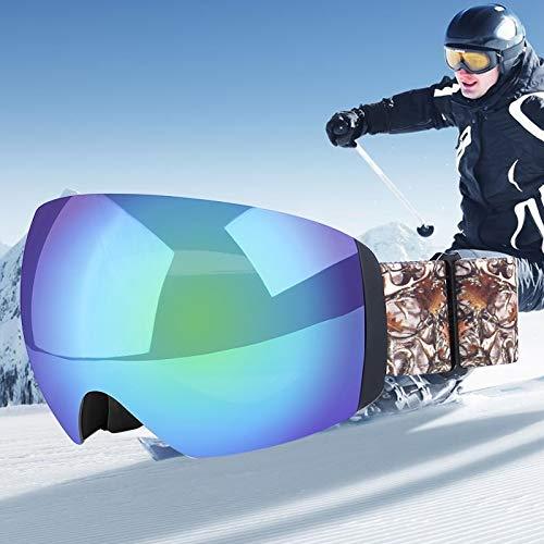 Yiph-Sunglass Sonnenbrillen Mode H011 Unisex Dual Layer-Weitsicht Anti-Fog Windschutz UV-Schutz Sphärische Brille mit verstellbarem Gurt (Artikelnummer : Og5219b)