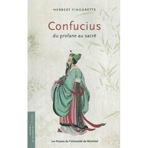 Confucius, du profane au sacré