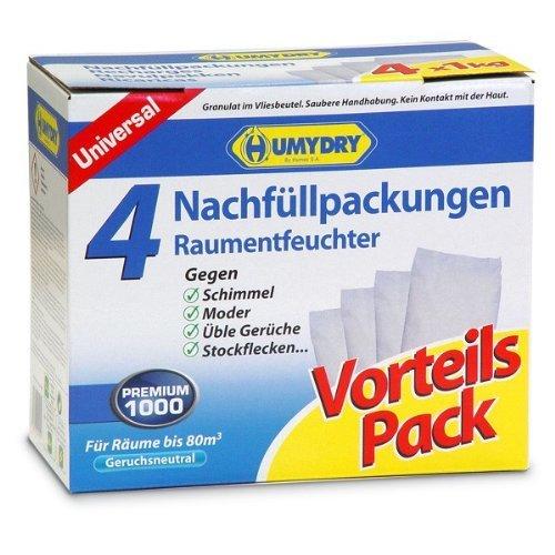 8 x 1 Kg Humydry Luftentfeuchter Nachfüllpackungen Raumentfeuchter -