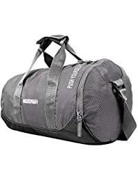 a07c5657008 TRAVALATE Polyester Water Resistant Gym Sports Duffel Bag for Men and Women  with Shoes Compartment