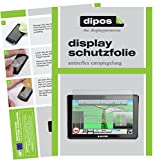 dipos I 3X Schutzfolie matt passend für Snooper Truckmate S8000 Folie Displayschutzfolie
