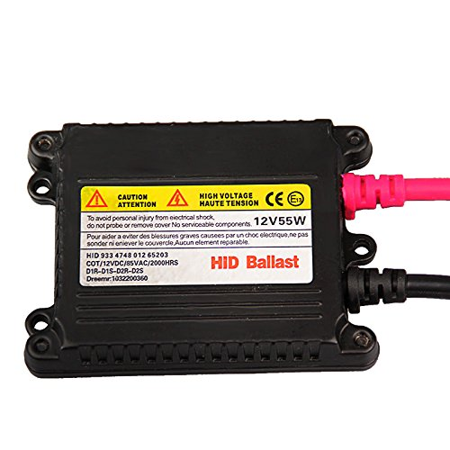 Ocamo Universal DC 12V 55 W Slim Ballast HID Replacement Conversion Kit