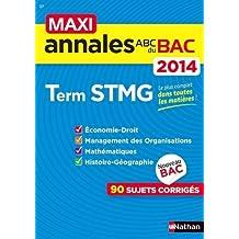MAXI ANNALES BAC 2014 TERM STM