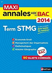 MAXI ANNALES BAC 2014 TERM STM