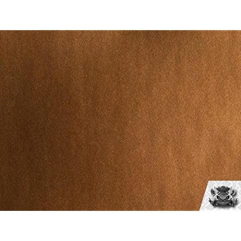 Vinyl Splash BRONZE Fake Leather Upholstery Fabric By the Yard by FABRIC EMPIRE