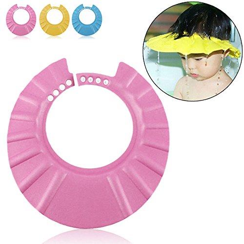 Ibepro Duschhaube für Kleinkinder, Babys und Kinder zum Schutz von Augen und Gesicht beim Baden oder Duschen (Kinder Dusche)
