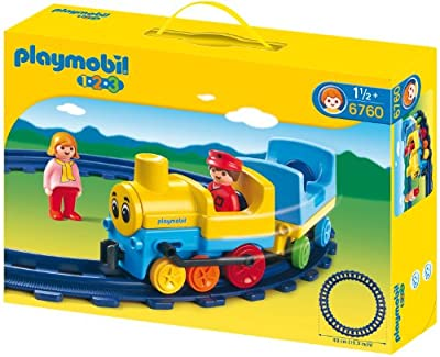 1.2.3 locomotora de Playmobil (6760)