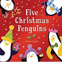 Five Christmas Penguins by Steven Lenton (2012-09-25)