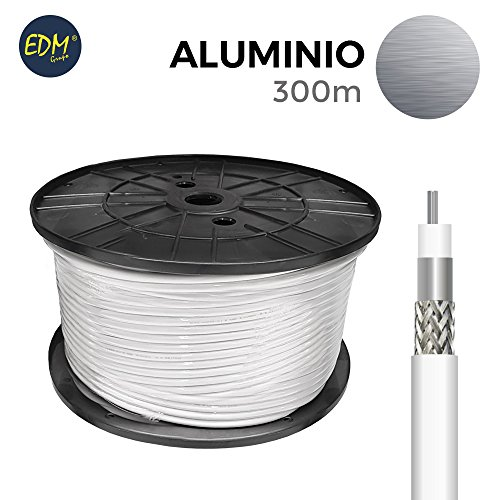 Spule Koaxial Aluminium 300MTS EDM