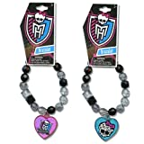 WeGlow International Monster High Assorted Faceted Beaded Bracelet with Plastic Charm (Set of 3) best price on Amazon @ Rs. 1899