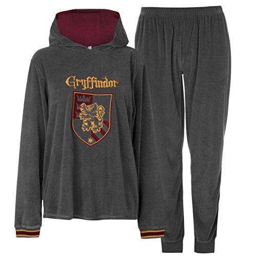Harry Potter Gryffindor - Ensemble de pyjama - Femme - Gris - Small