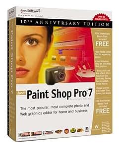 Jasc paint shop pro 7 review.