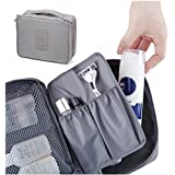 House of Quirk Nylon Luggage Cosmetic Cases, Grey
