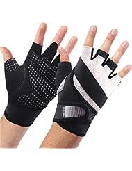 boildeg Fitness Handschuhe Trainingshandschuhe,Leicht Gewichtheben Ideal zum Gewichtheben,Crossfit Training und Radsportanzug für Damen und Herren