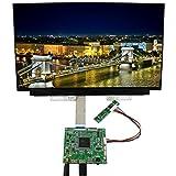 KSOPUERT Schermo LCD da 15,6'4K LCD NV156QUM-N32 risoluzione 3840x2160 con Scheda di Controllo LCD HDMI DP Audio
