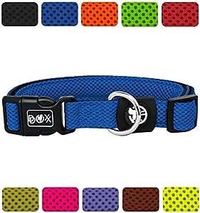 DDOXX Hundehalsband aus Premium Air Mesh  ...Freude für den Hund  Strapazierfähiges und langlebiges Hundehalsband für jeden Tag. Die Air Mesh Hundehalsbänder bestehen aus leichtem und langlebigem Air-Mesh-Gewebe. Das Material zeichnet sich durch sei...