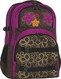 Take It Easy Schulrucksack OSLO-FLEX Cut Flower 452166 braun/pink
