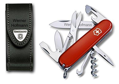 Victorinox Climber Taschenmesser Set mit Wunschgravur
