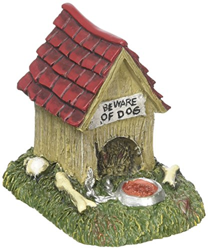 �r für Dörfer Halloween Creepy Creatures Hund House Zubehör Figur, 6,3cm ()